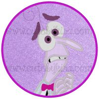 Purple Emotion Boy Applique Embroidery Design