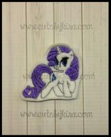 Rare Pony Feltie Embroidery Design