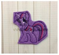 Twilight Shimmer Feltie Embroidery Design