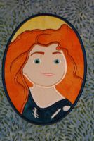 Scottish Princess Applique Embroidery